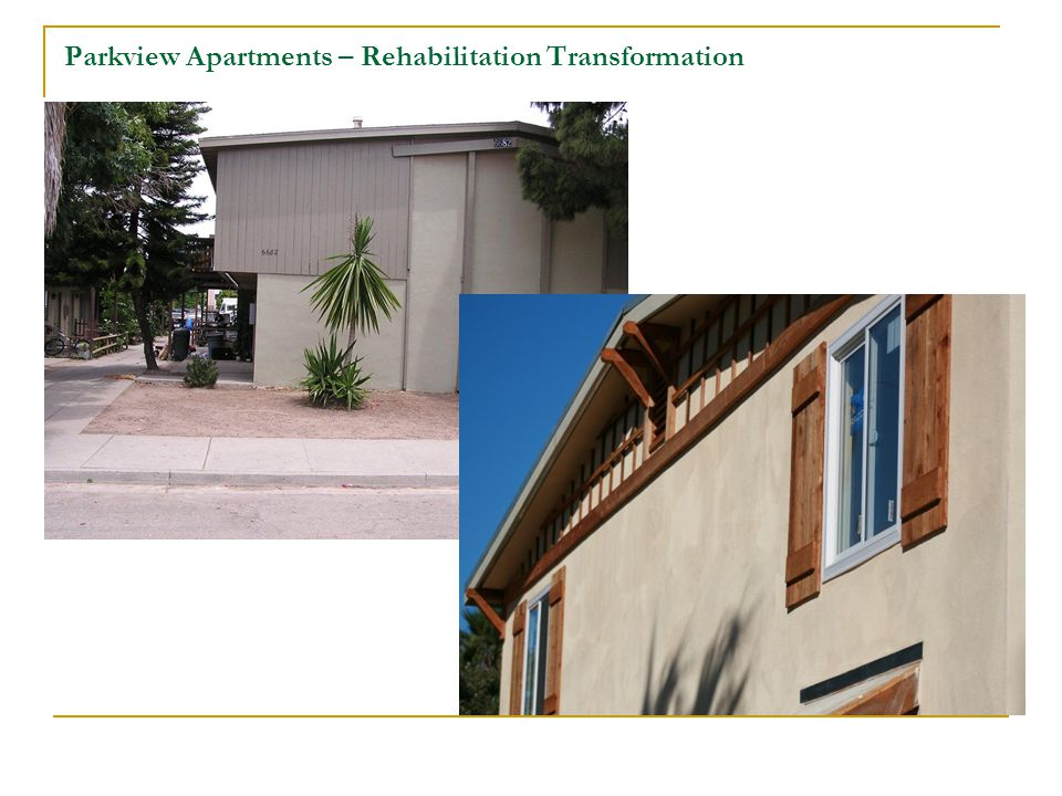 Parkview Apartments – New Exterior Condition (During Construction)