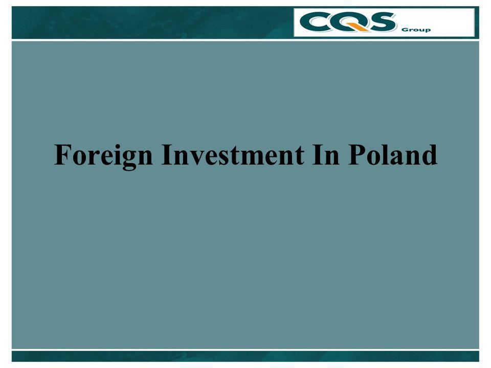 Foreign Investment In Poland