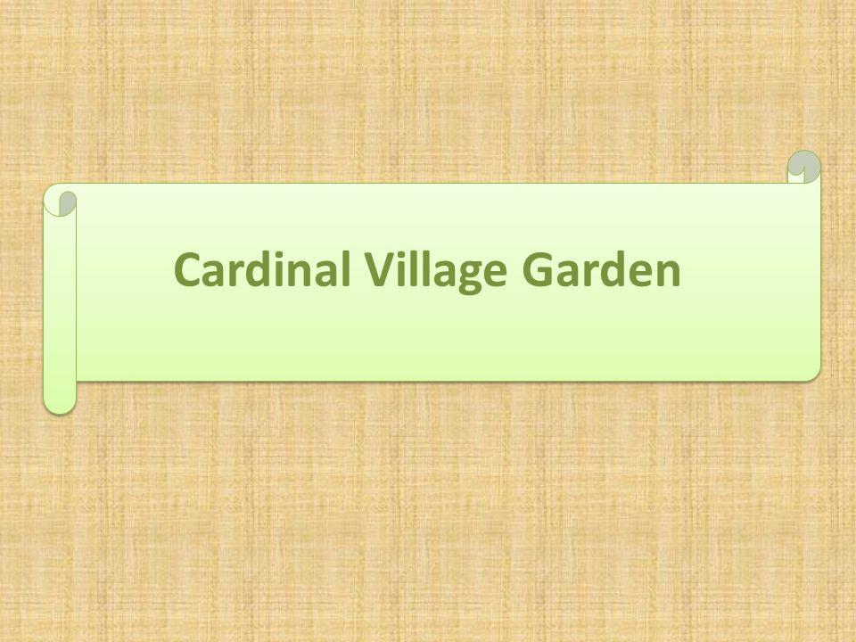 Cardinal Village Garden