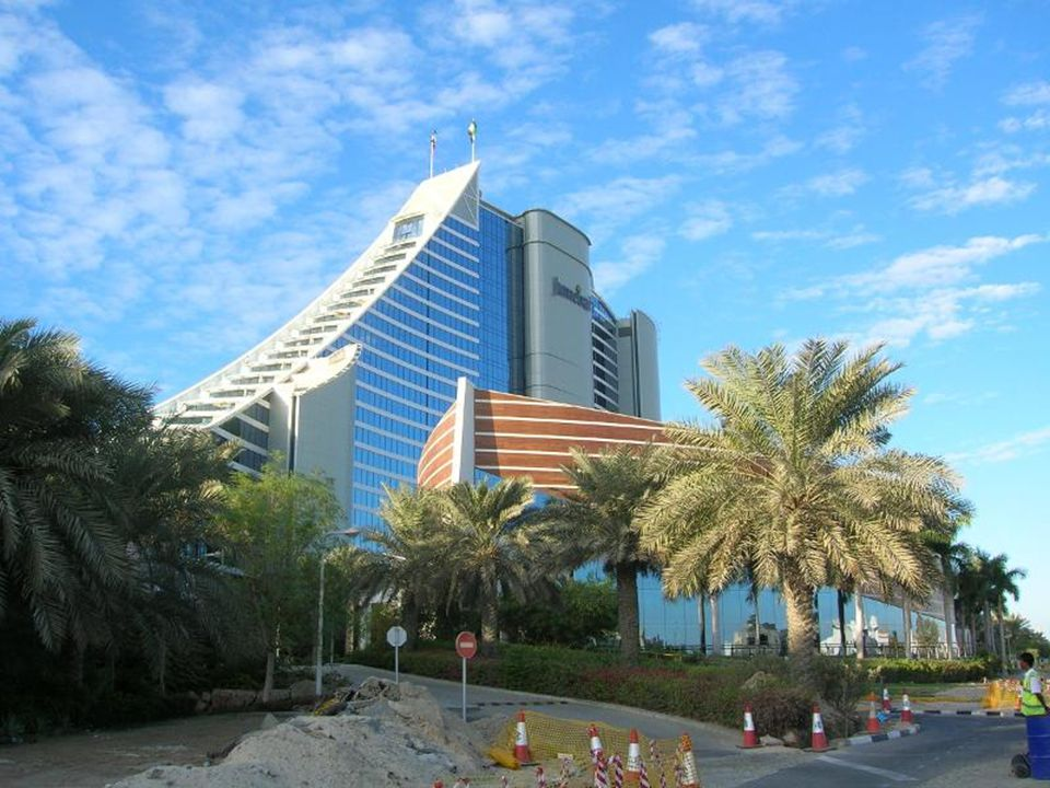 Dubai, Wild Wadi Water Park, Beach and Jumeirah Hotel