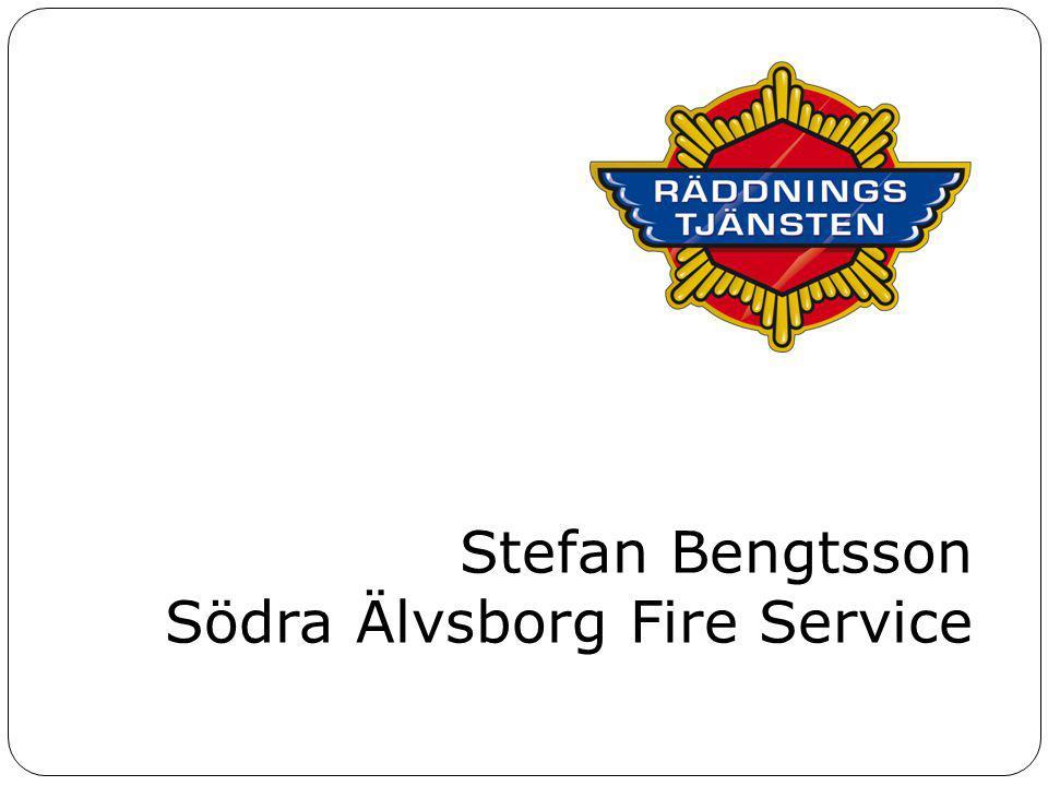 Stefan Bengtsson Södra Älvsborg Fire Service