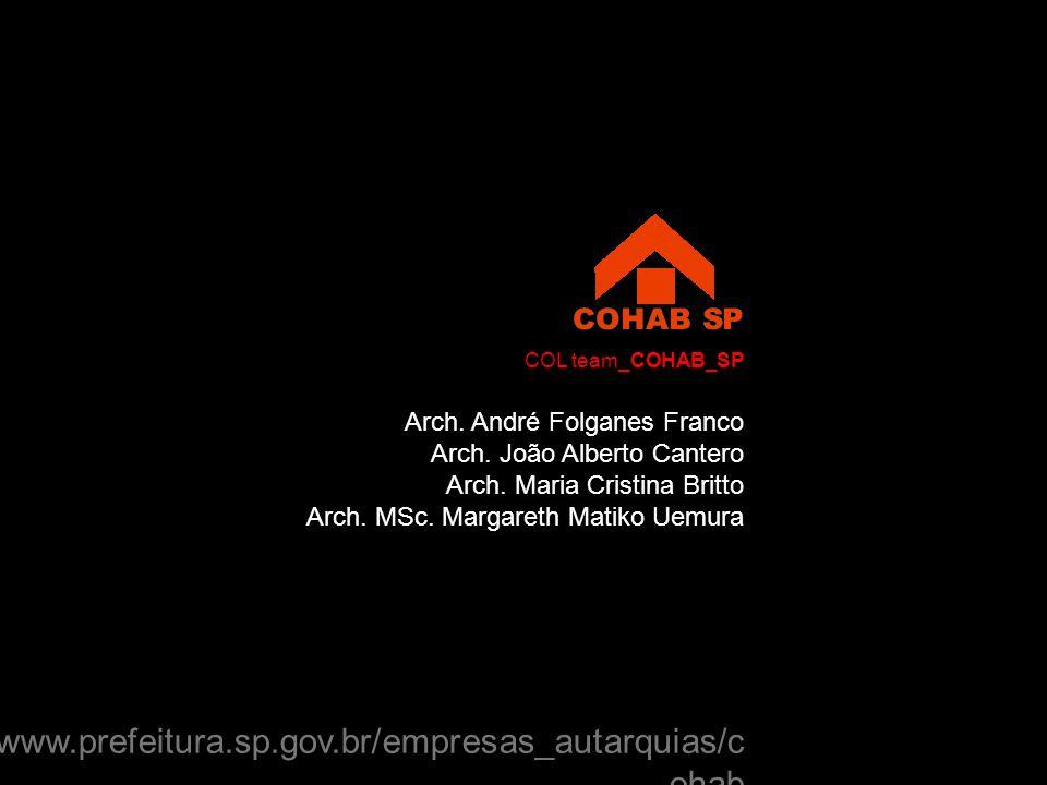 Arch. André Folganes Franco Arch. João Alberto Cantero Arch.