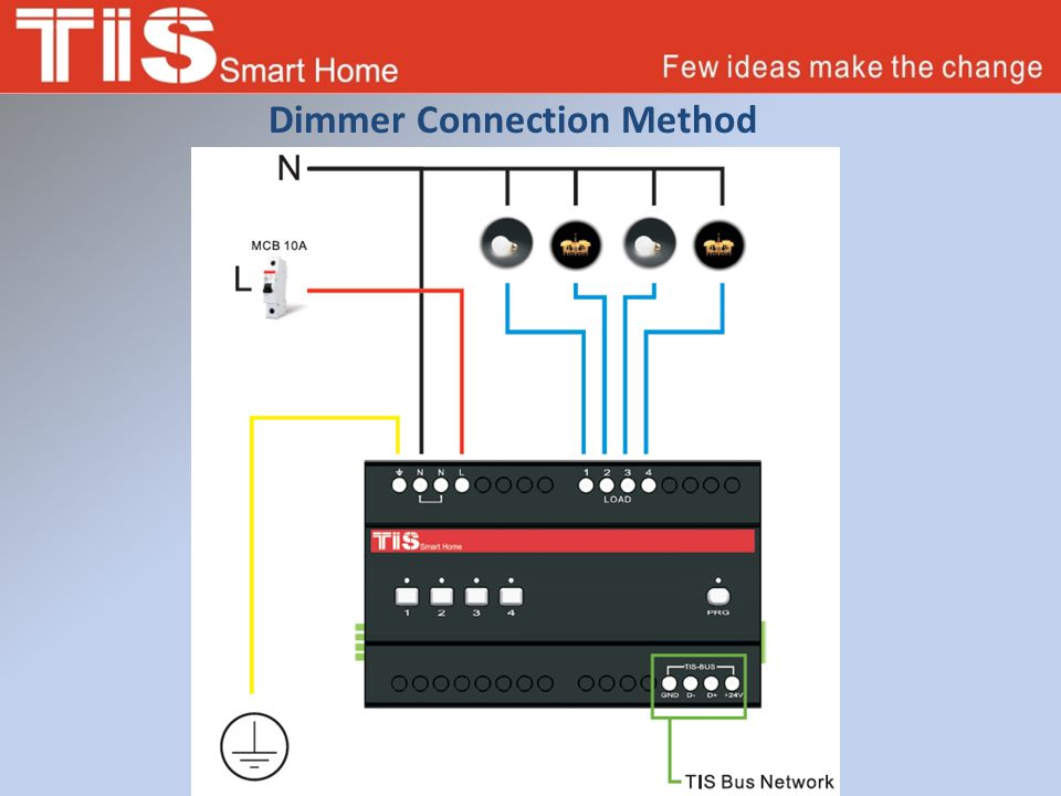 Dimmer Connection Method