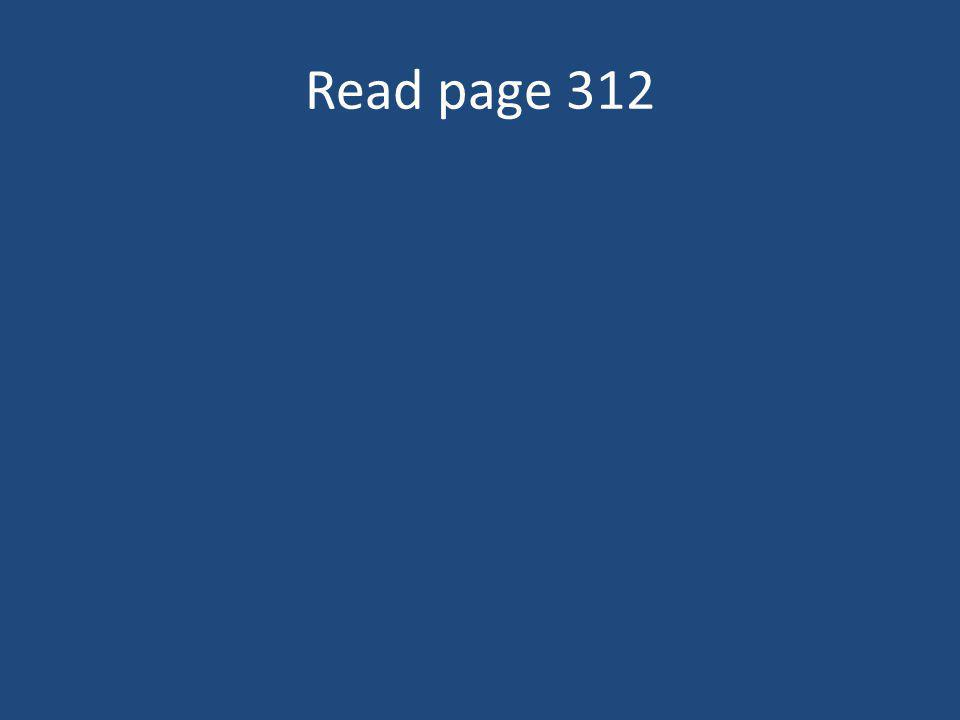 Read page 312