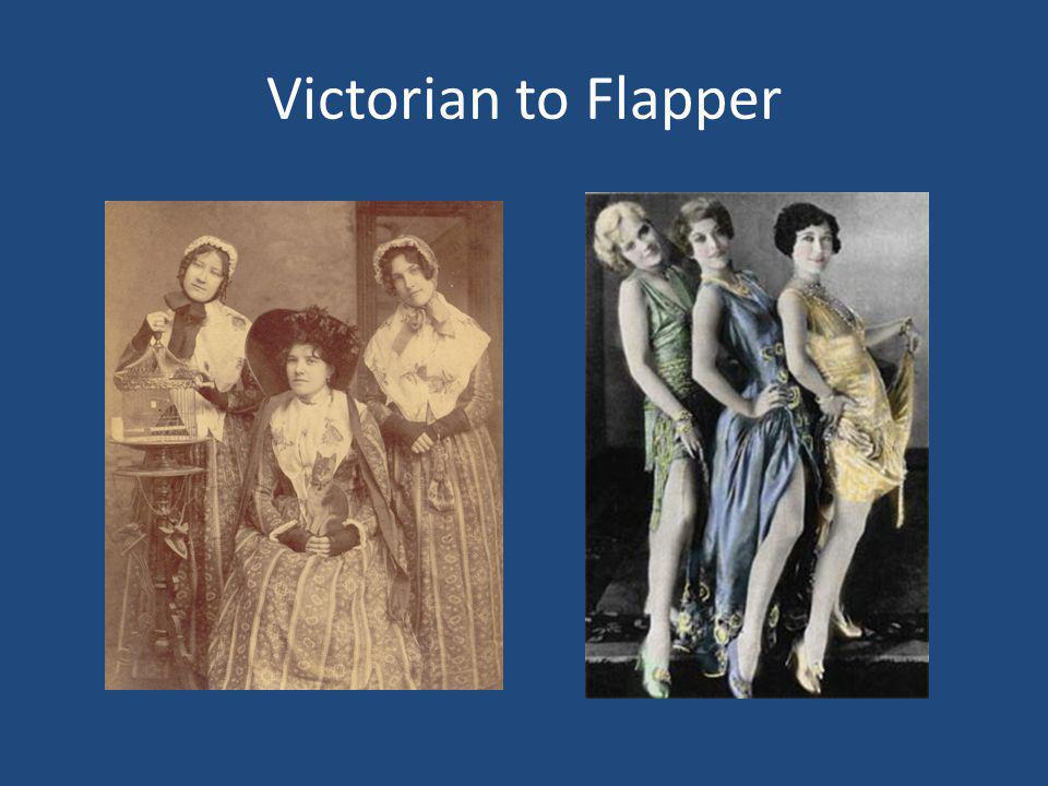 Victorian to Flapper