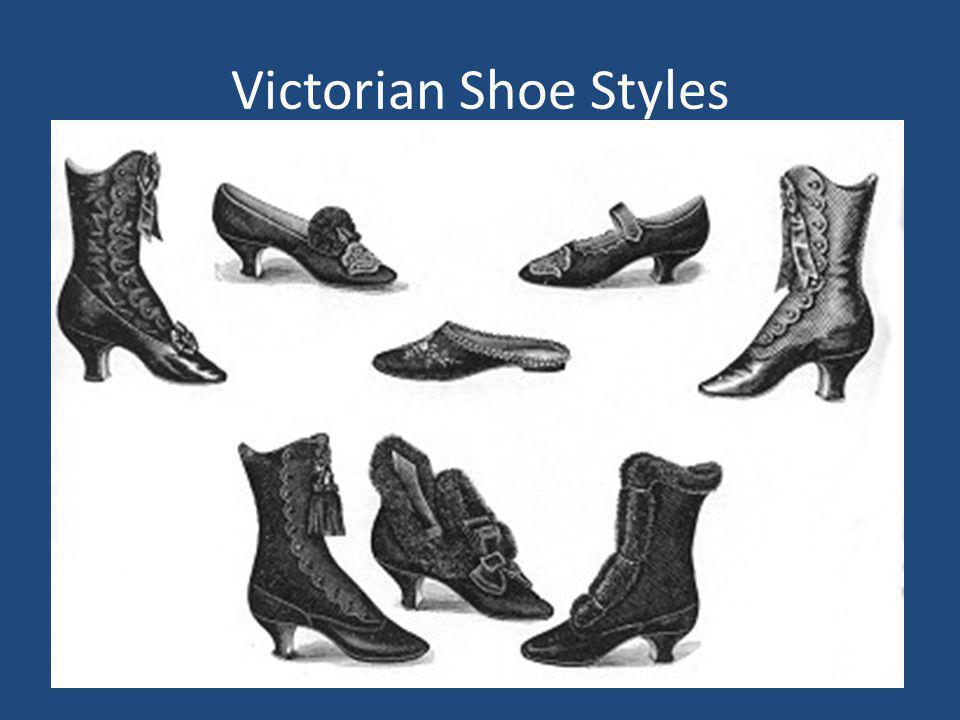 Victorian Shoe Styles