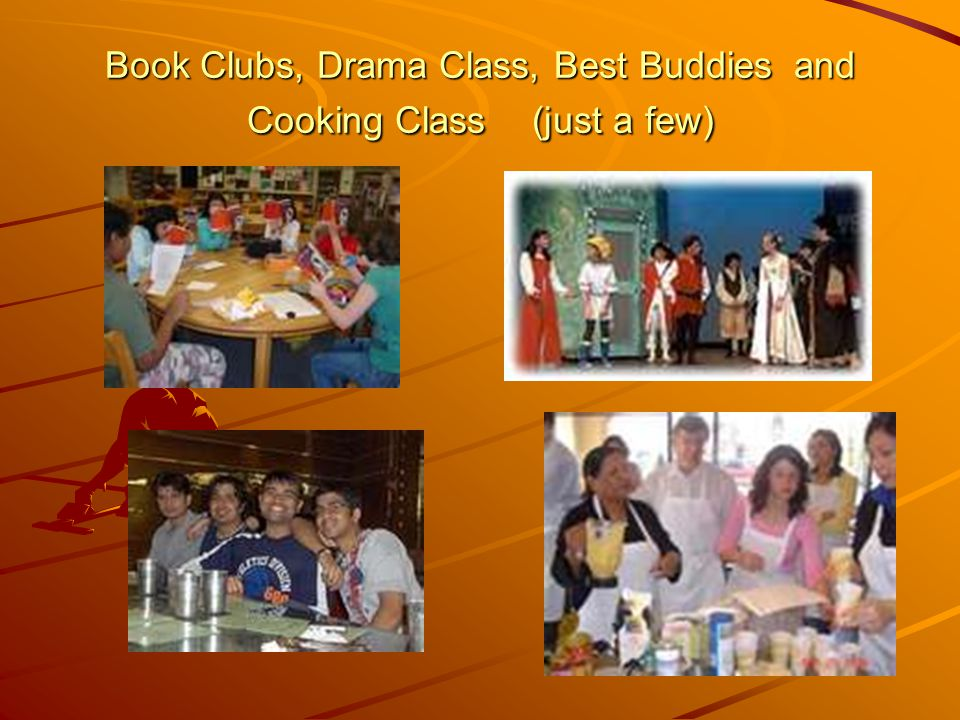 Education & Recreation A book club with the Senior citizens that live in our community.