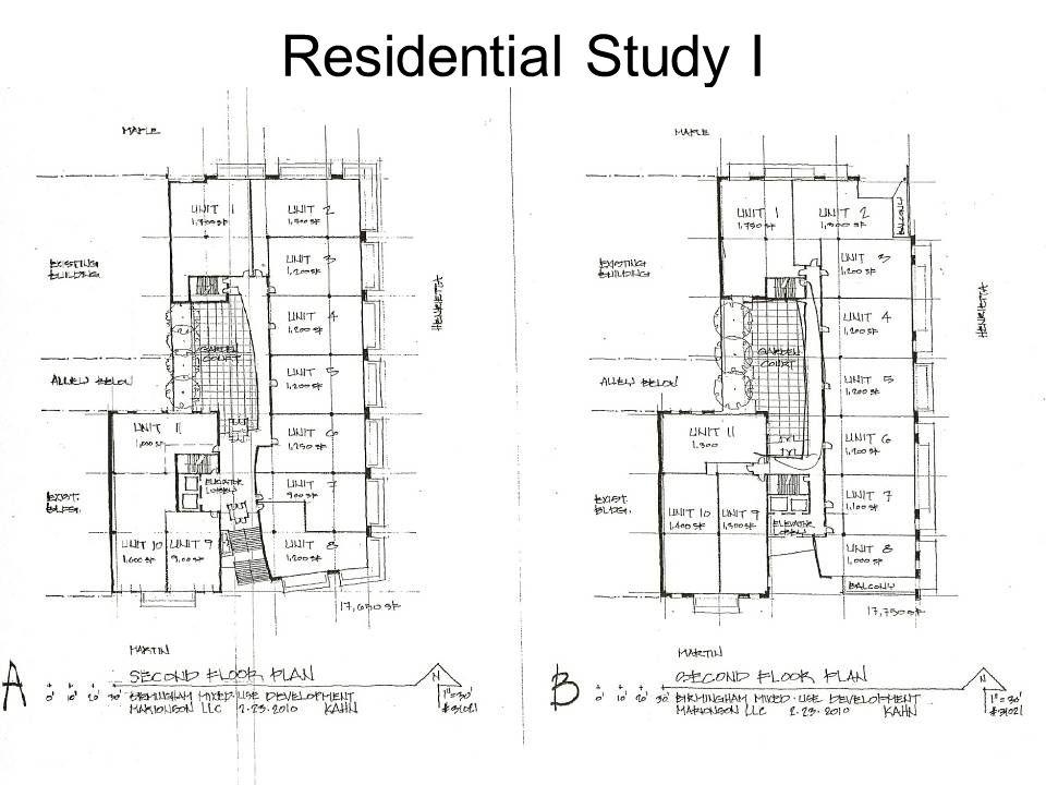 Residential Study I