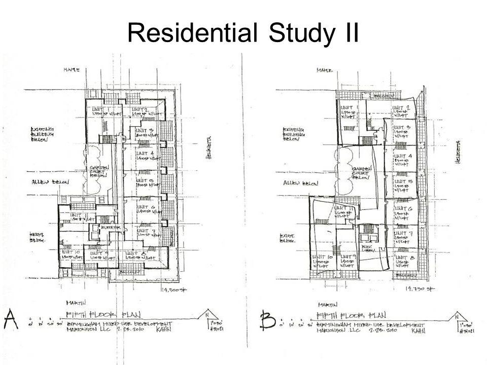 Residential Study II