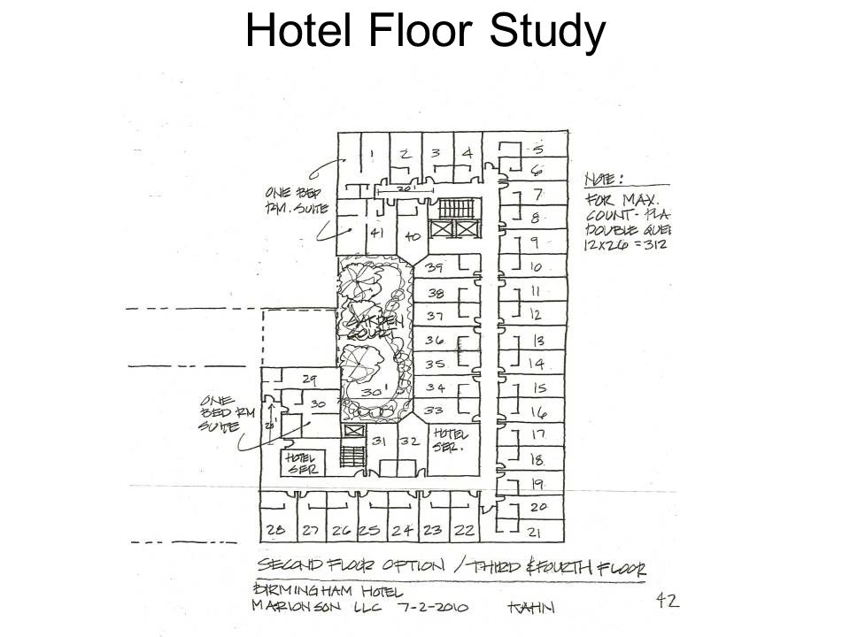 Hotel Floor Study