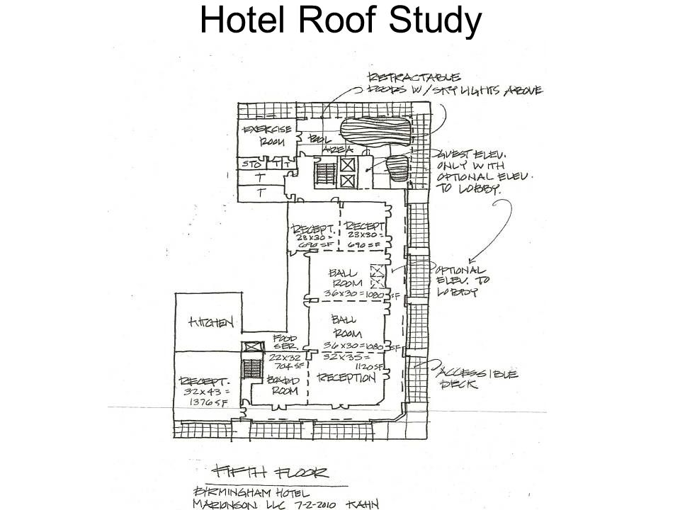 Hotel Roof Study