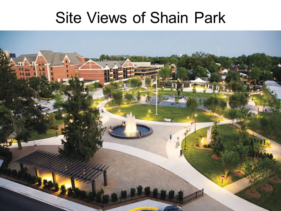 Site Views of Shain Park