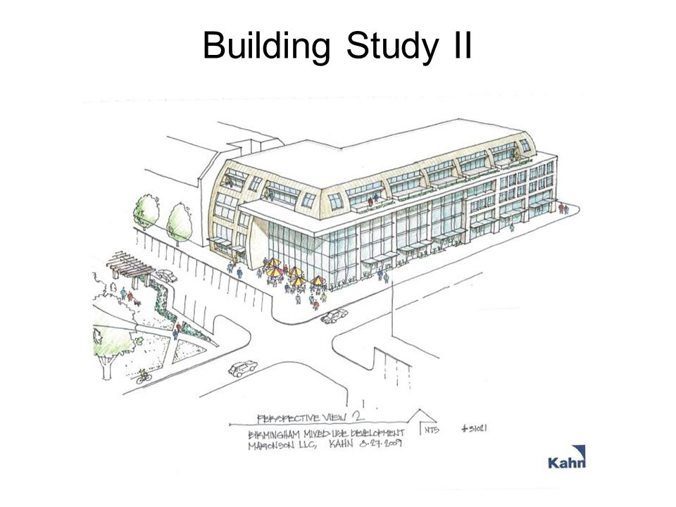 MULTI- TENANT SECTION STUDY