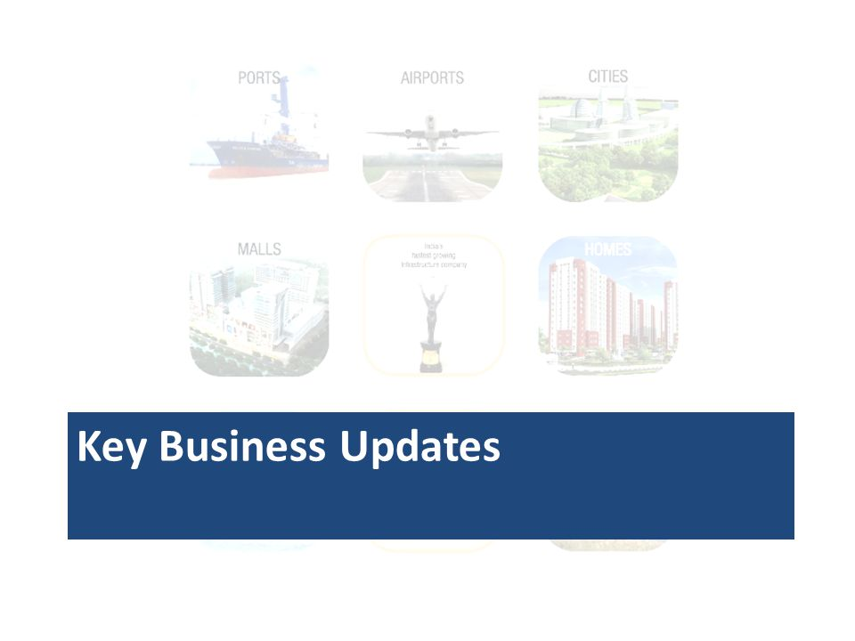 Key Business Updates