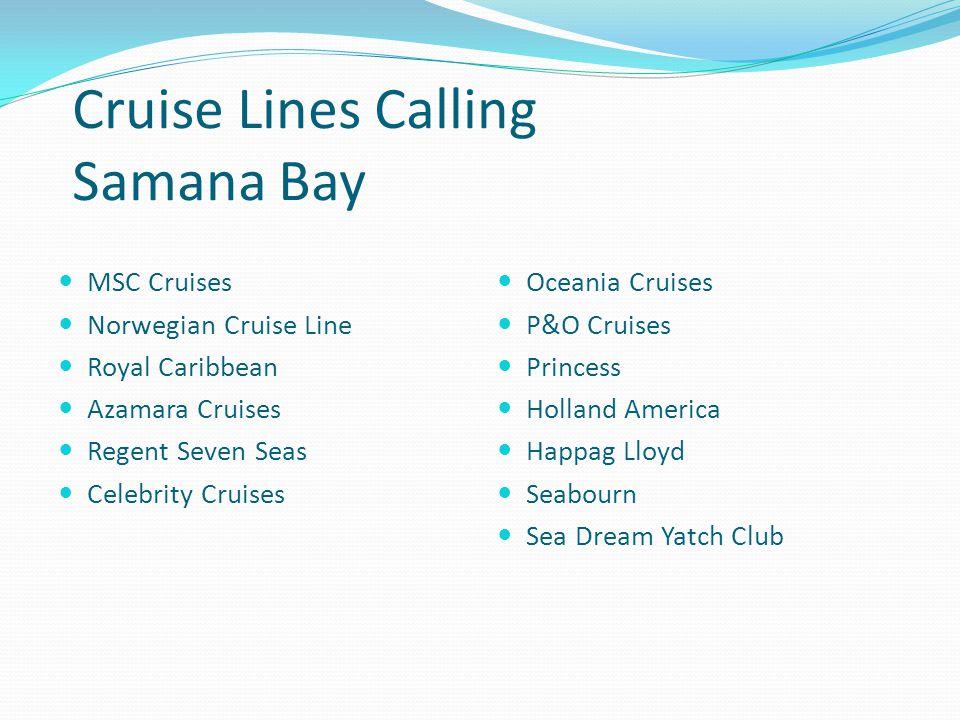Samana Bay Passenger Volumes