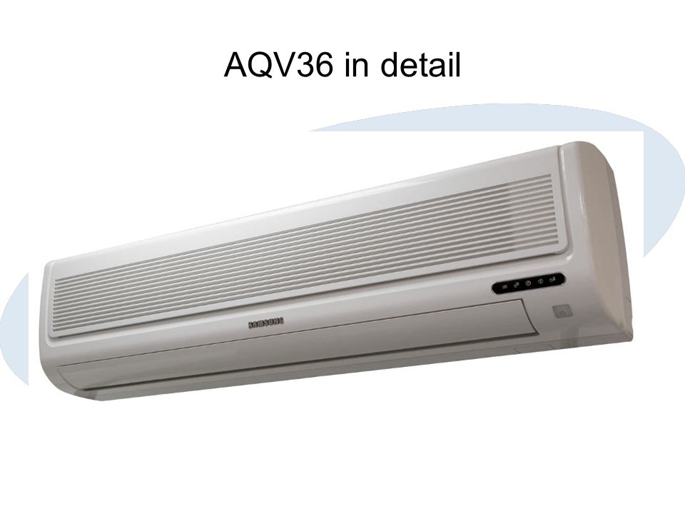 AQV36 in detail