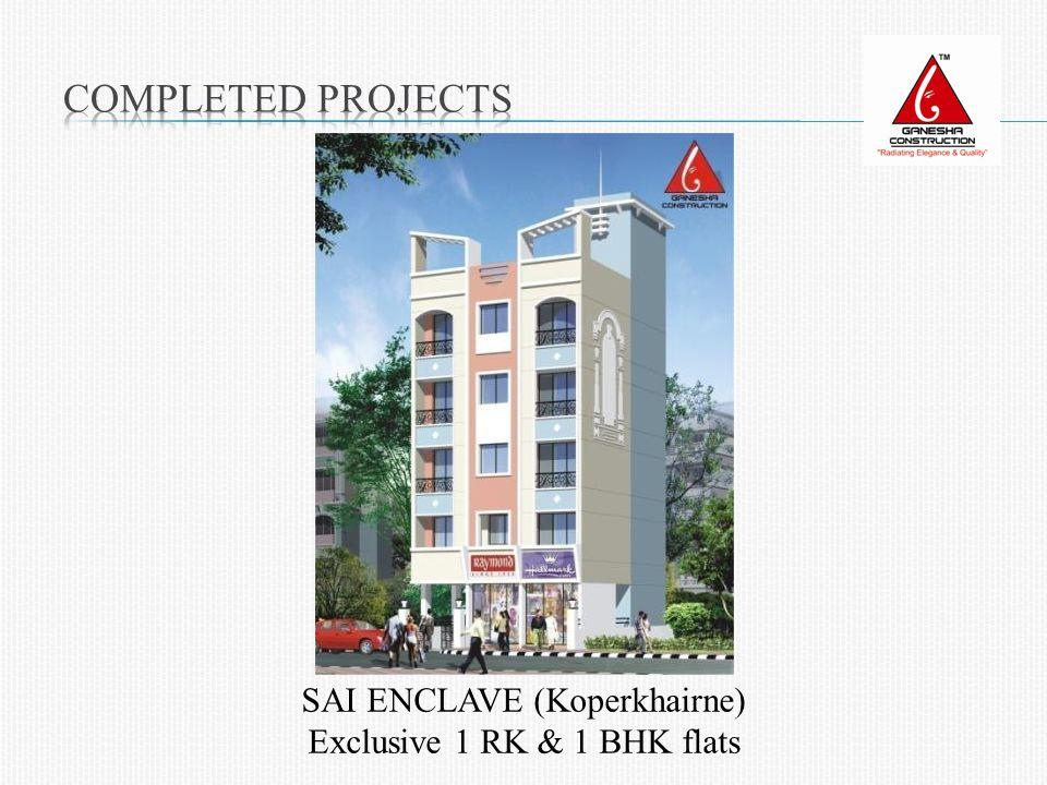 SAI ENCLAVE (Koperkhairne) Exclusive 1 RK & 1 BHK flats
