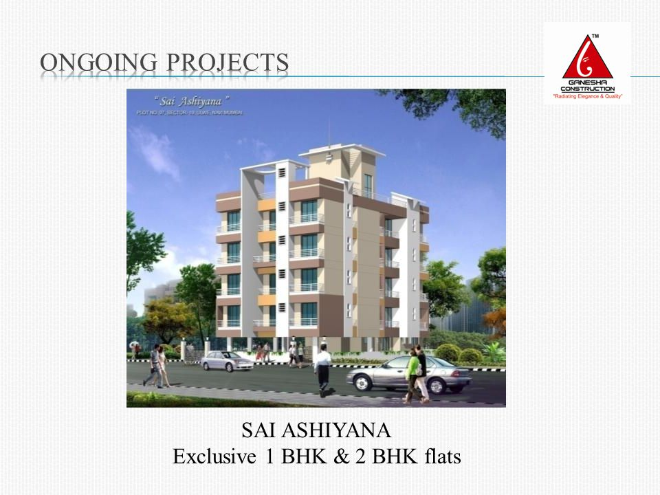 SAI ASHIYANA Exclusive 1 BHK & 2 BHK flats