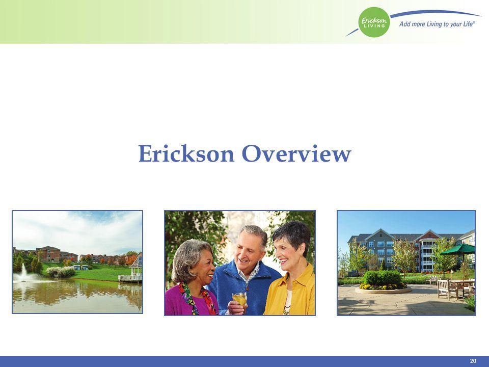 Erickson Overview 20