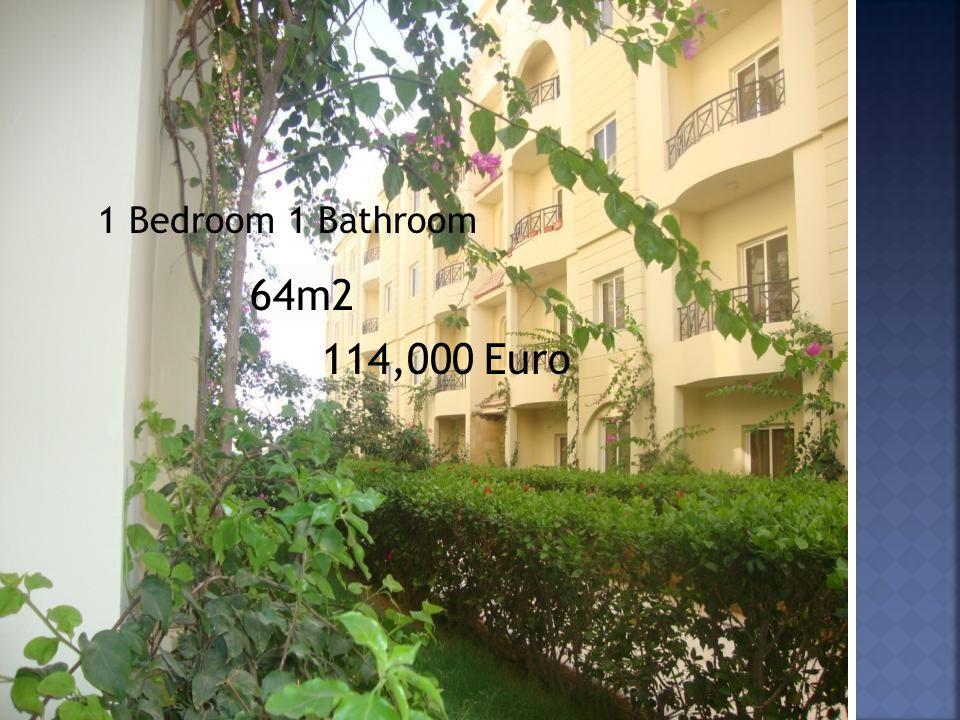 1 Bedroom 1 Bathroom 64m2 114,000 Euro