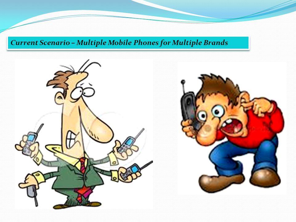 Current Scenario – Multiple Mobile Phones for Multiple Brands