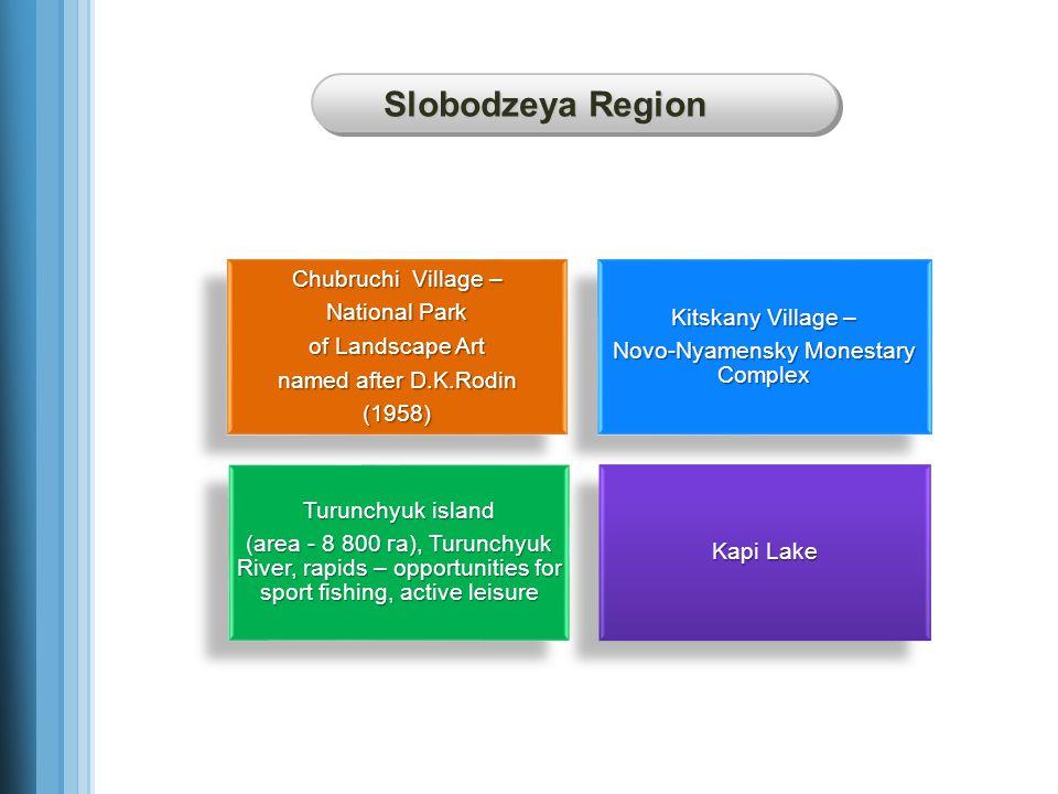 Slobodzeya Region