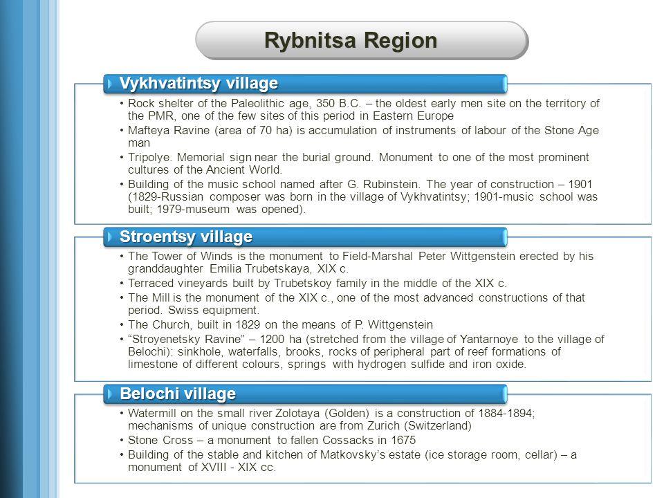 Rybnitsa Region Rock shelter of the Paleolithic age, 350 B.C.
