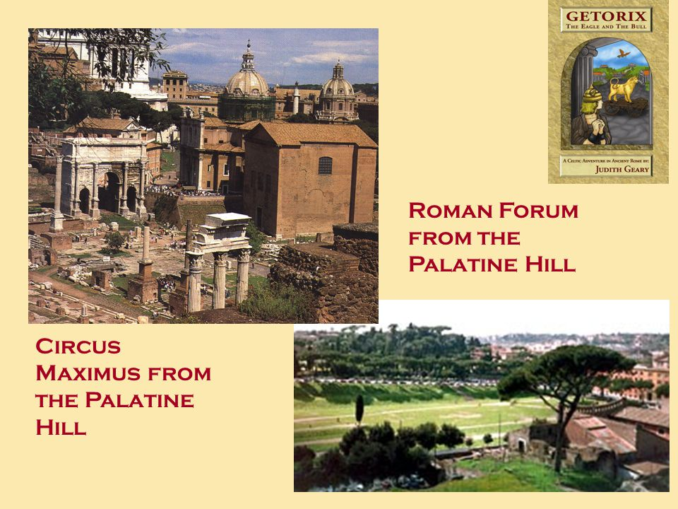 Roman Forum from the Palatine Hill Circus Maximus from the Palatine Hill
