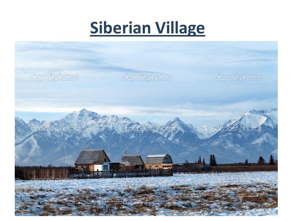 Siberian Village