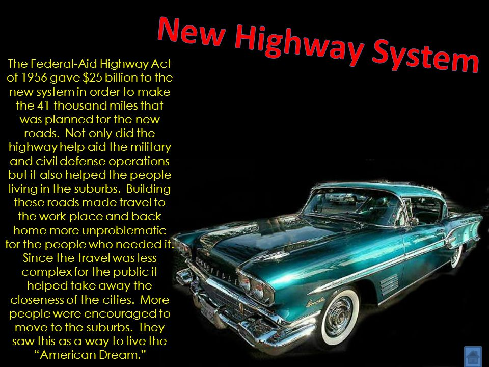 Freedom from Chaos New Highway System New Families