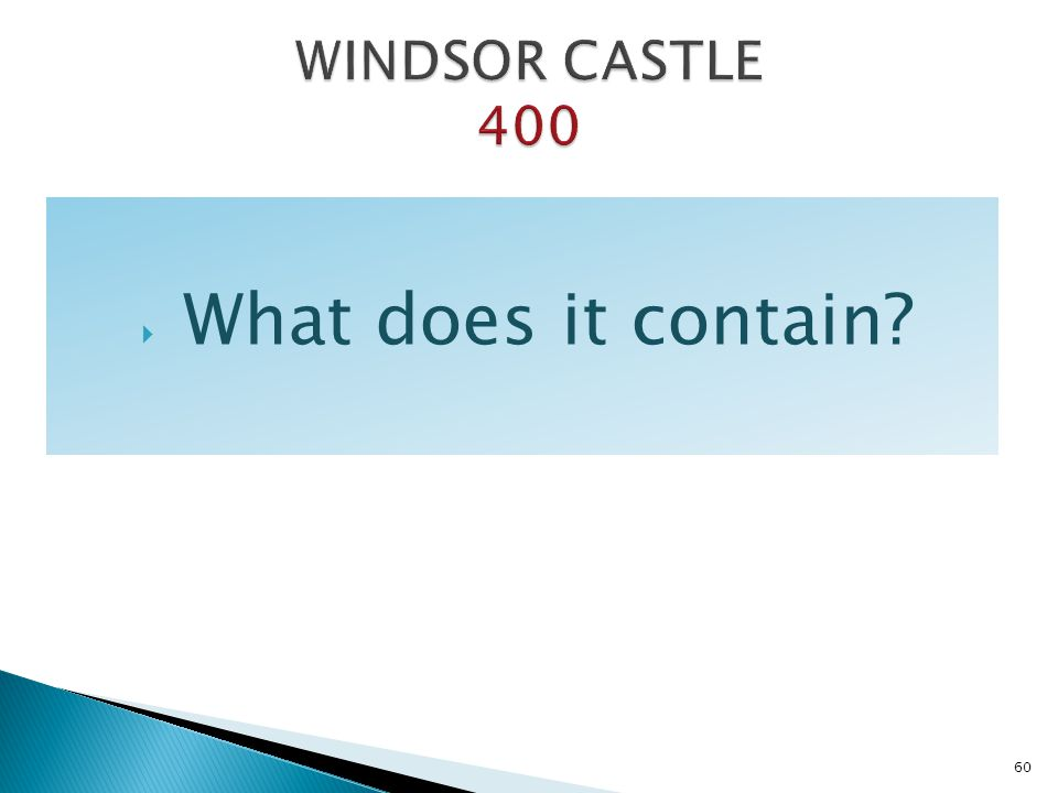 What does it contain? 60