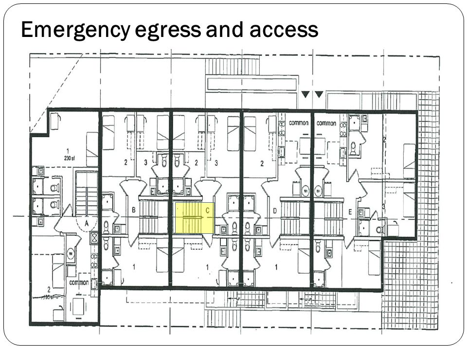 Emergency egress and access
