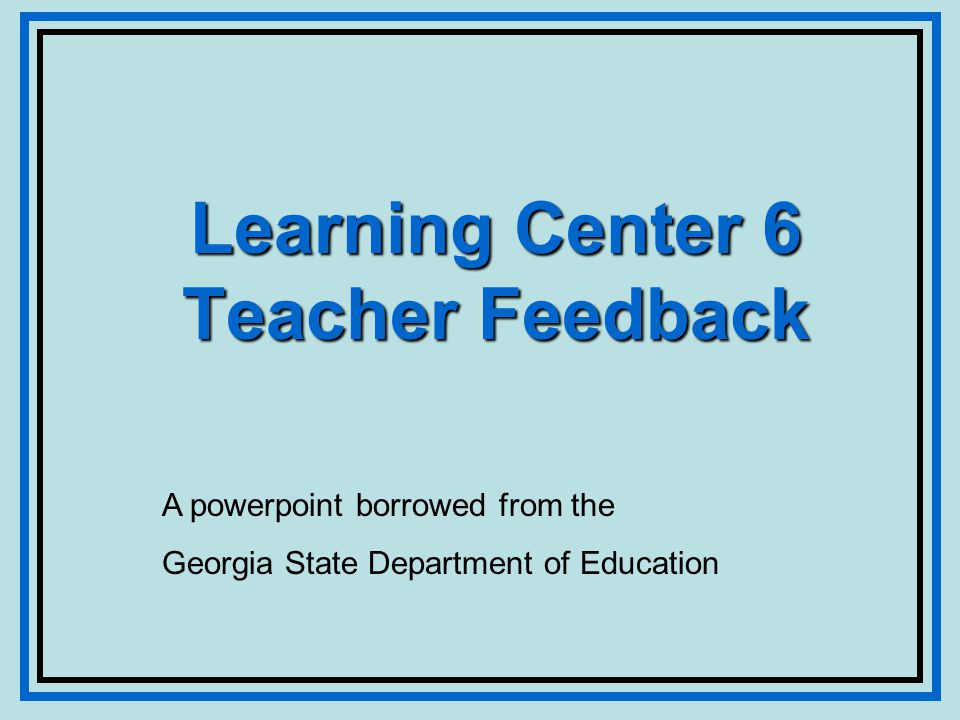 The Research John Hattie reviewed thousands of studies on learning and instruction and concluded that The most powerful single moderator that enhances achievement is feedback.