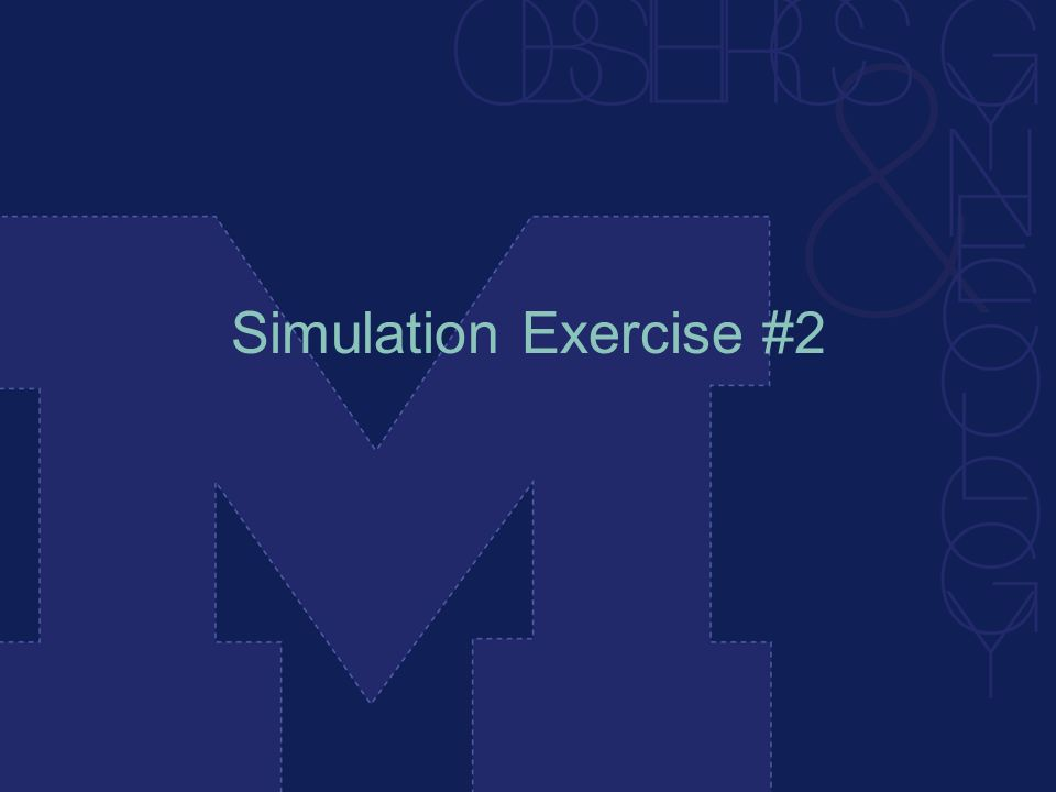 Simulation Exercise #2