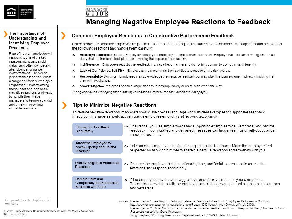 Corporate Leadership Council HR Practice © 2010 The Corporate Executive Board Company.