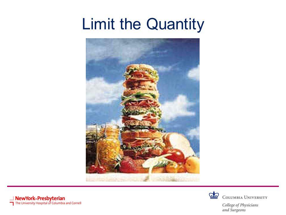 Limit the Quantity