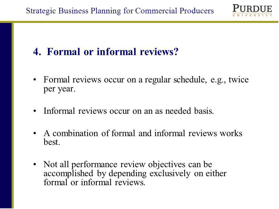 Strategic Business Planning for Commercial Producers 4.