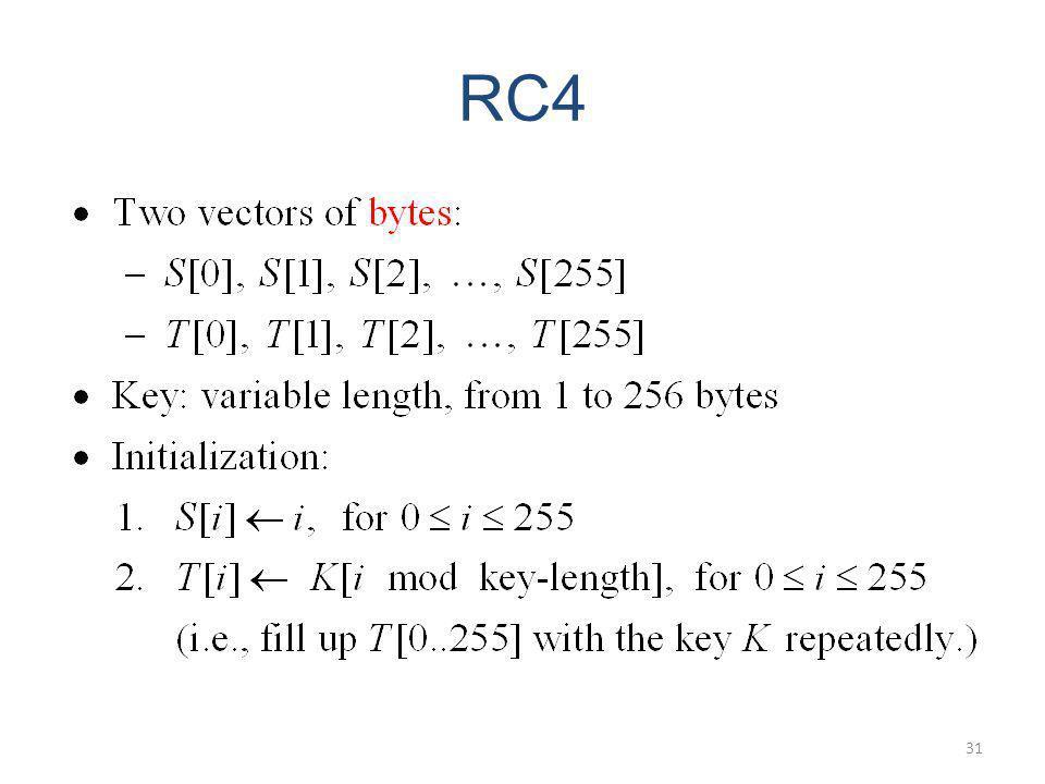 RC4 31