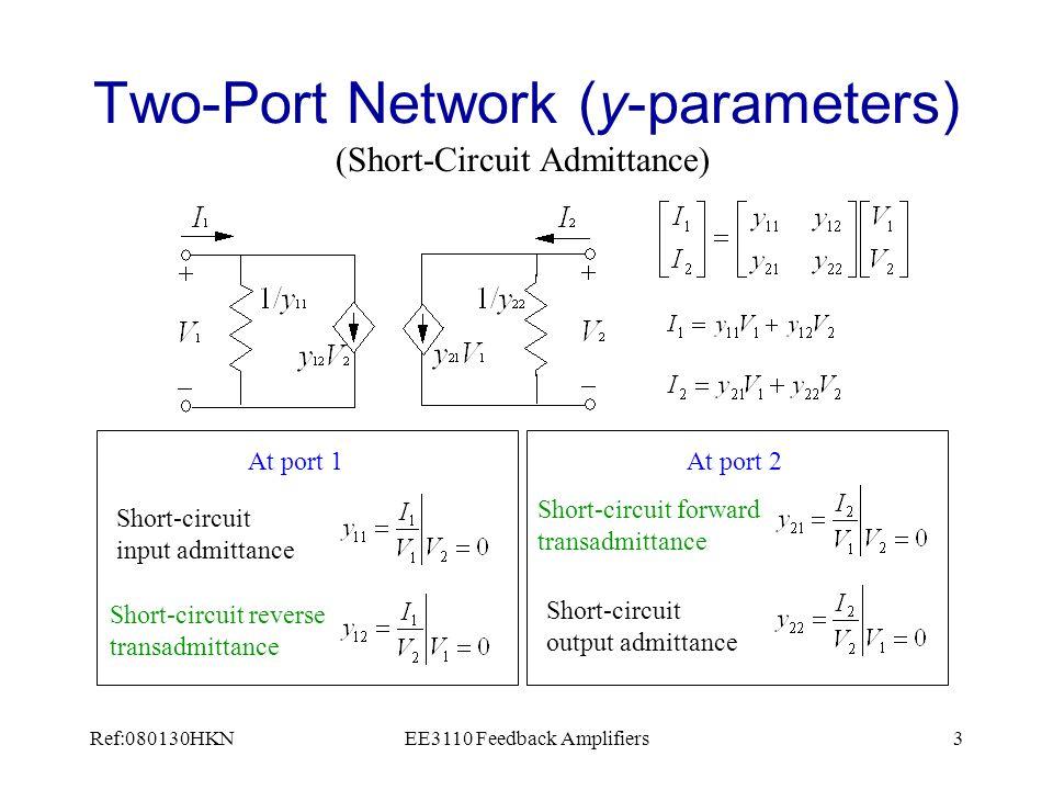 Ref:080130HKNEE3110 Feedback Amplifiers24 Close loop analysis