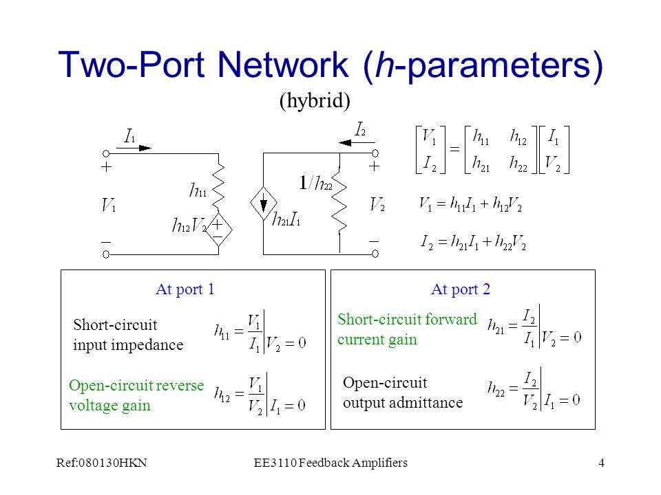 Ref:080130HKNEE3110 Feedback Amplifiers35 Circuit Theory