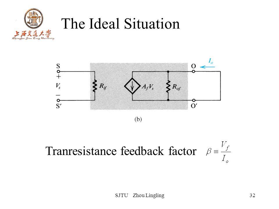SJTU Zhou Lingling32 The Ideal Situation Tranresistance feedback factor