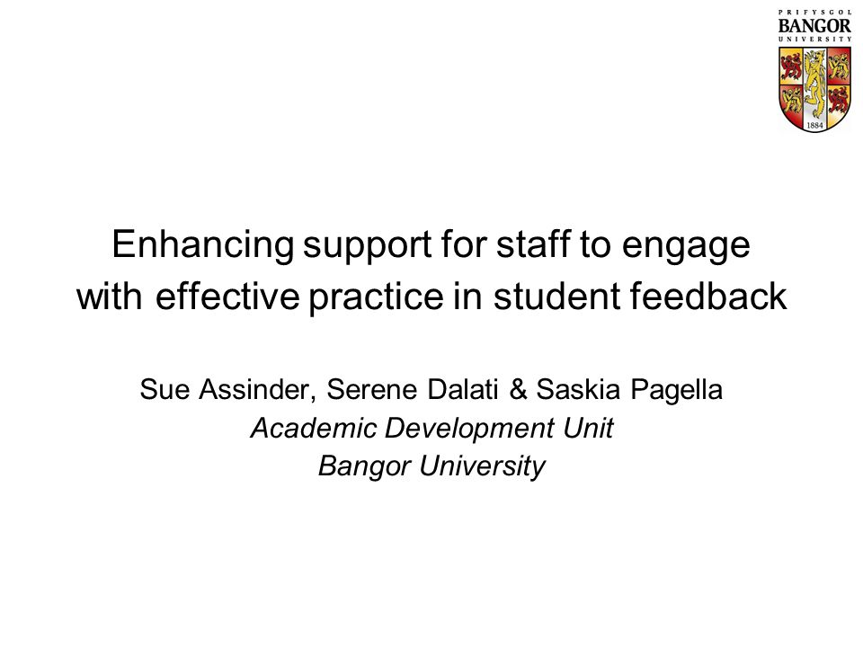 Satisfaction with feedback given / received (% positive responses)