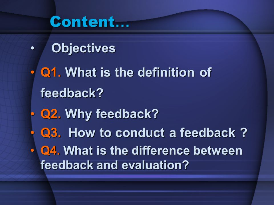 Q5.How frequent Feedback is used in our medical education and why?Q5.