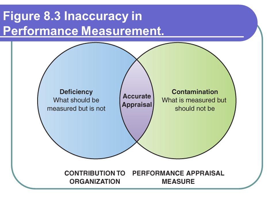 Figure 8.3 Inaccuracy in Performance Measurement.
