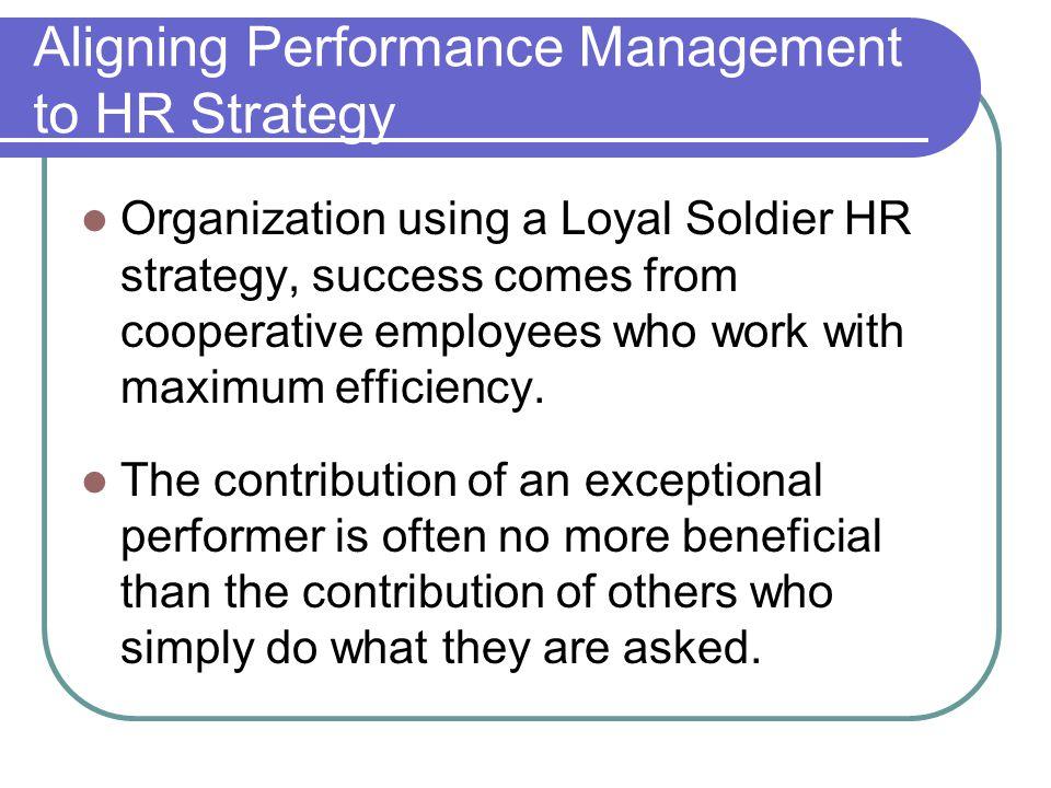 Figure 8.1 Strategic Framework for Performance Management.