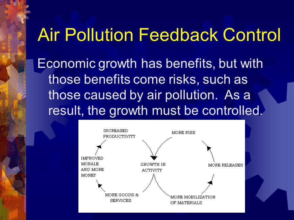 Purpose of Feedback The primary reason for feedback control is to measure and compensate for the effect of disturbances.