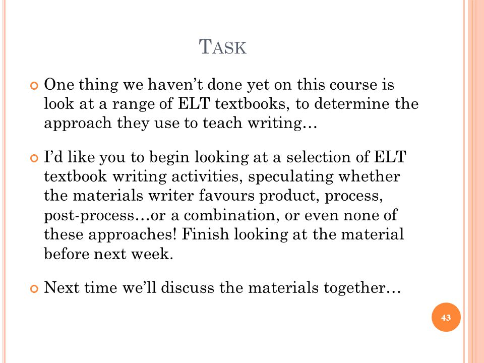 english language coursework task one and introduction essay He's yet to discover that writing an essay is never going to be an easy task in an english essay there is no one answer or coursework essay and.
