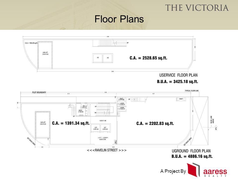 A Project By Floor Plans