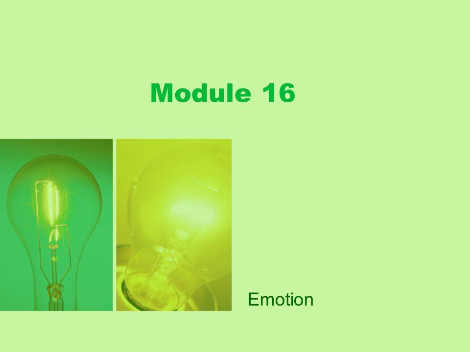 Module 16 Emotion