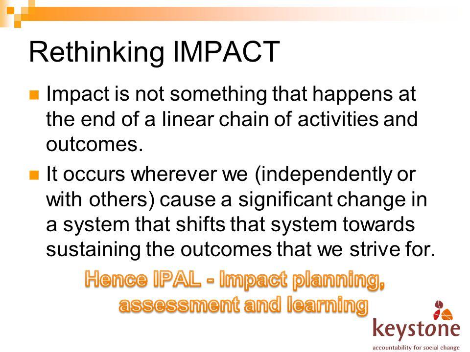 Rethinking IMPACT